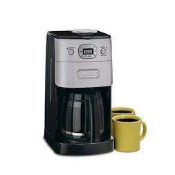 12-Cup Automatic Black Drip Coffee Maker Grind Brew Built-In