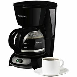 Mr. Coffee 4-Cup Switch Maker, Black Drip Coffeemakers Kitch