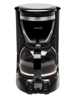 Capresso 424.01 12-Cup Drip Coffeemaker Coffee Machines, New