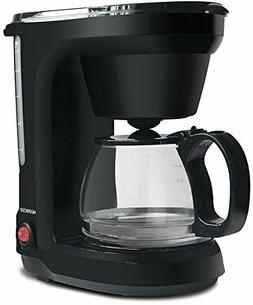 6-Cup Drip Coffee Maker, Pot Machine Including Reusable And