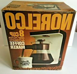 NORELCO 8-Cup Automatic Drip Coffee Maker Brand NEW in Box
