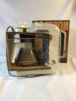 Norelco 8 Cup Drip Filter Automatic Coffee Maker