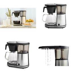 8-Cup Stainless Drip Coffee Maker With Glass Carafe