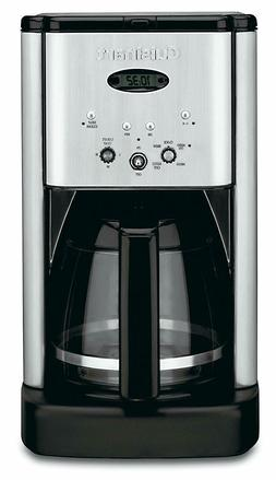 Brew Central 12-Cup Stainless Steel Drip Coffee Maker with C