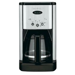 Brew Central 12 Cup Stainless Steel Drip Coffee Maker Adjust