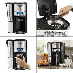 brewstation 12-cup programmable black drip coffee maker