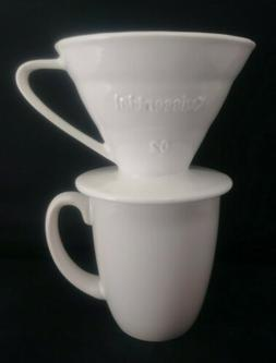 Kuissential Ceramic Coffee Dripper ~ Pour Over Drip Coffee M