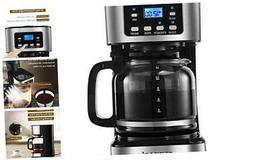 CHULUX Programmable Drip Coffee Maker with 24-hour Timer and