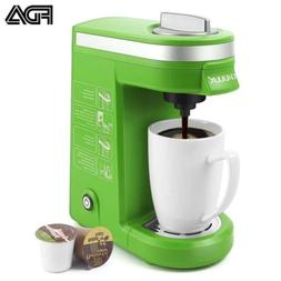CHULUX Single Serve Coffee Maker with Removable Drip Tray,Gr