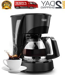 Coffee Maker 4 Cup Gevi Small Drip Coffee Maker With Glass C