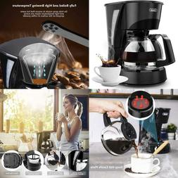 Coffee Maker 4 Cup,Gevi Small Drip Coffee Maker With Glass C