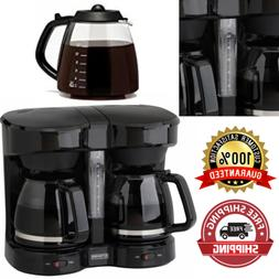 Coffee Maker Dual 2 12 Cup Pot Large Commercial Brewer 2 In