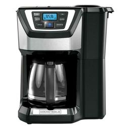 Coffee Maker Programmable Stainless Steel Drip Built-In Grin