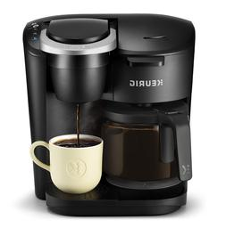 Coffee Maker with Single Serve K-Cup Pot 12 Cup Brewer Autom