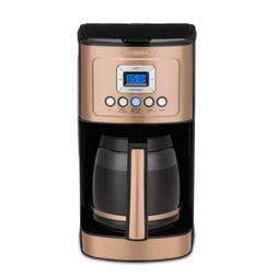 Copper Collection 14 Cup Programmable Drip Coffee Maker Elec
