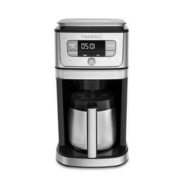 Cuisinart Drip Coffee Maker 10-Cup Burr Grind Brew Auto Rins
