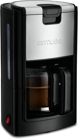 Gourmia GCM1835 10-Cup Automatic Drip Coffee Maker with Extr