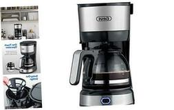 Gevi 4-Cup Coffee Maker with Auto-Shut Off, Small Drip Coffe