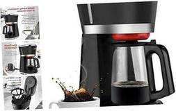 Gevi Coffee Maker 5 Cup with One-Touch, Small Drip Coffeemak