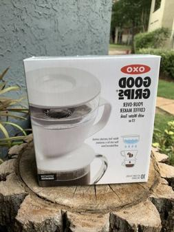 Oxo Good Grips Drip Pour Over Coffee Maker With 12 Oz Water