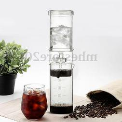 Home Travel Cold Brew Water Ice Drip Dutch Coffee Maker Port