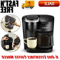 K-Duo Essential Coffee Maker, Single Serve K-Cup Pod & 12 Cu