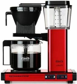 Moccamaster KBG Automatic Drip Stop Coffee Maker  | Red Meta