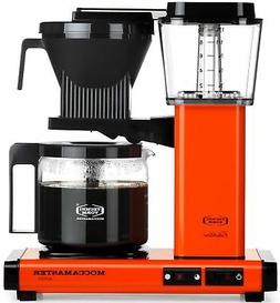 Moccamaster KBG Automatic Drip Stop Coffee Maker  | Orange