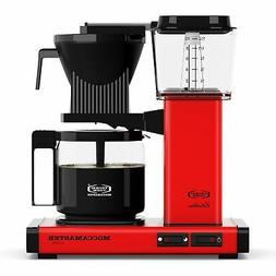 Moccamaster KBG Automatic Drip Stop Coffee Maker  | Red