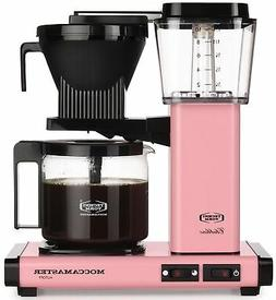 Moccamaster KBG Automatic Drip Stop Coffee Maker    Pink