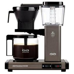 Moccamaster KBG Automatic Drip Stop Coffee Maker    Slate