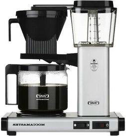 Moccamaster KBG Automatic Drip Stop Coffee Maker    Matte Si