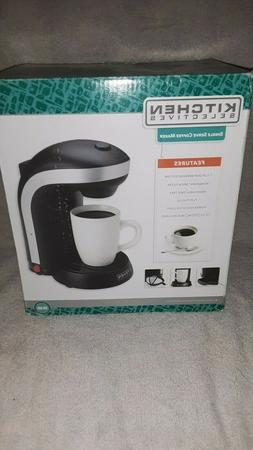 Kitchen Selectives CM-688 1-Cup  Serve Drip Coffee Maker, Bl