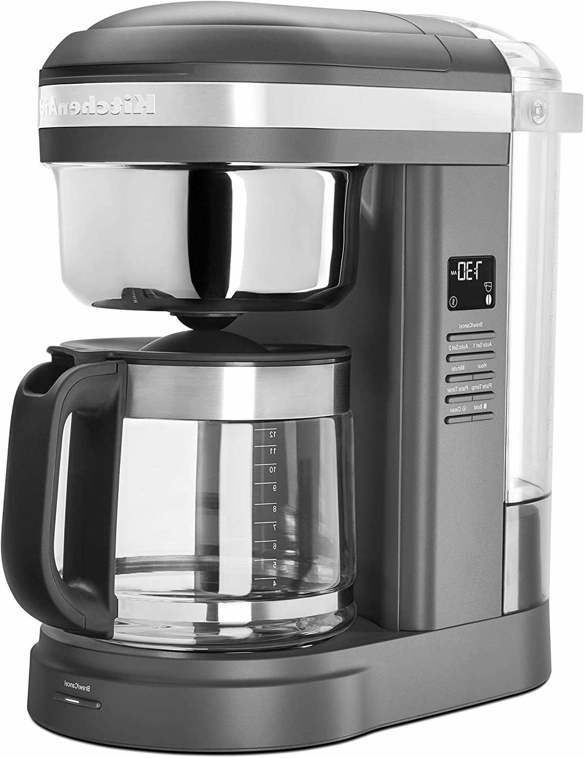 12 cup drip coffee maker with spiral