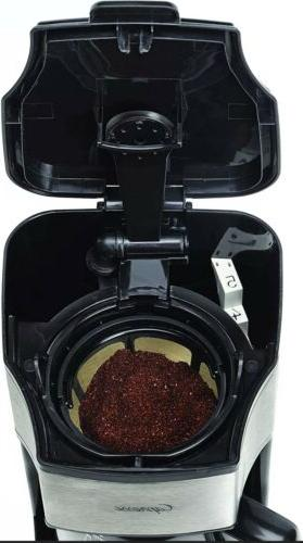 Capresso 5-Cup Coffee Maker Stainless