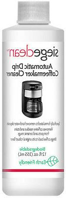 Siege Auto Drip Coffeemaker Cleaner, 12 oz, Earth Friendly,