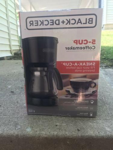 black decker drip coffee maker model cm0555b