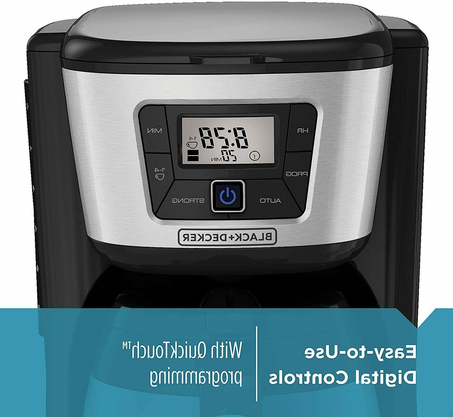Programable Maker Drip Pour 12 Cup Thermal Coffeemaker