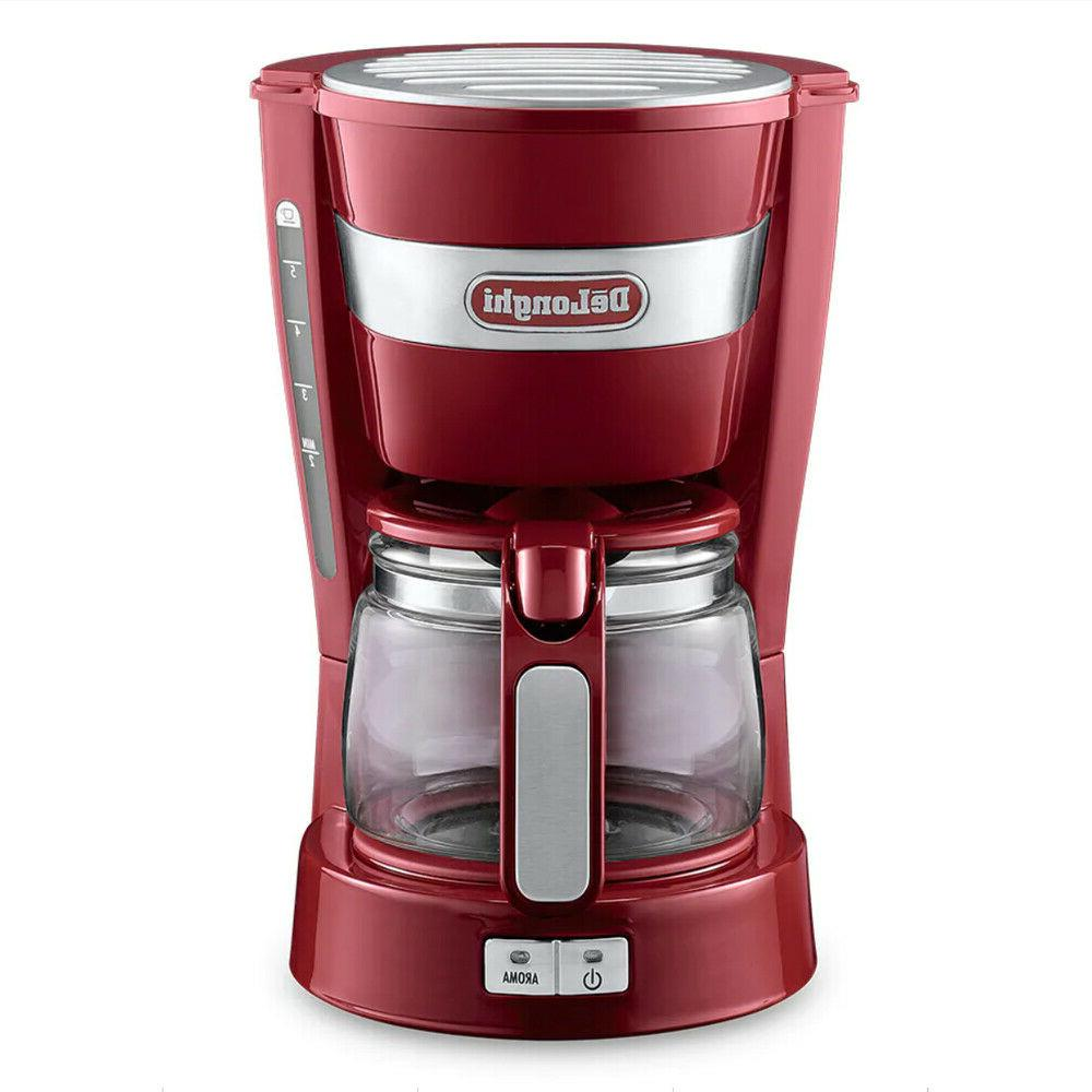 delonghi icm14011 r active line red drip