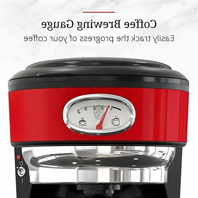 Russell Drip Maker Brewer Stainless Red New