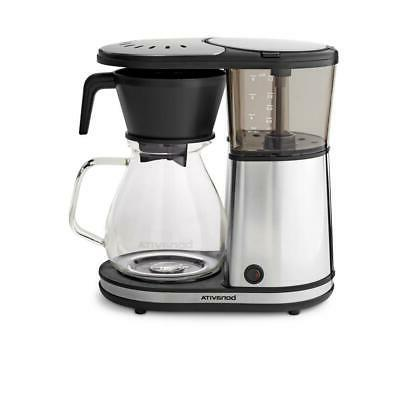 drip coffee maker 8 cup nonstick warming
