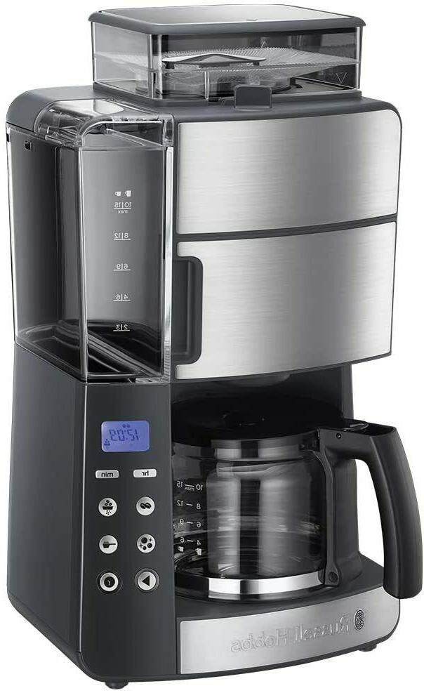grind and brew coffee maker of drip