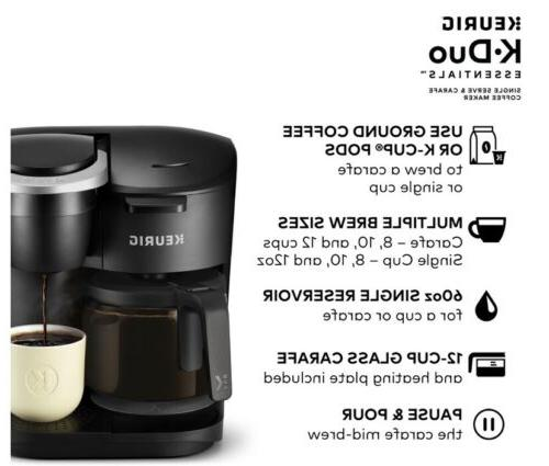 Keurig Maker~ 12 Cup Drip Brewer~ Sizes