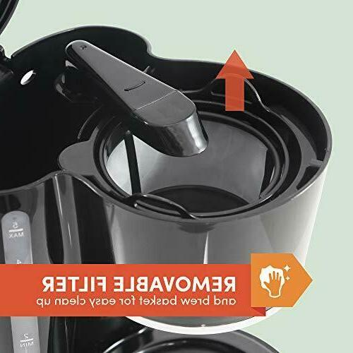 Maxi-Matic Automatic Drip Coffee Cup Filter