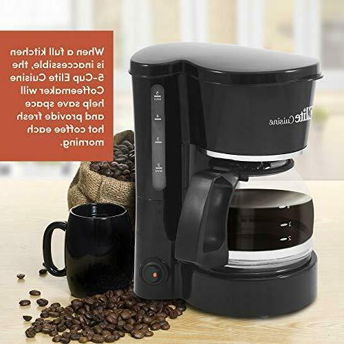 Maxi-Matic Automatic Drip Coffee 5 Cup Capacity Filter