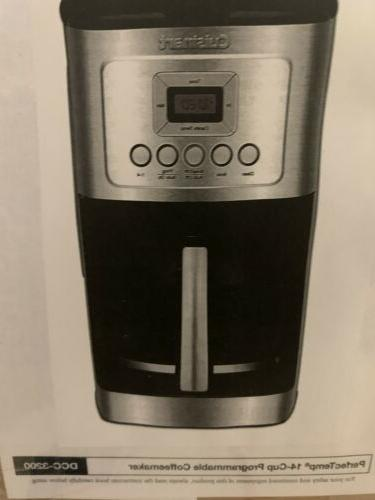 new coffee maker 14 cup with charcoal