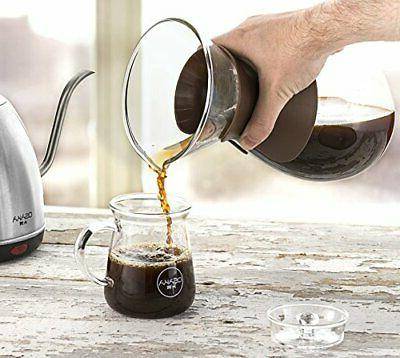 Osaka Coffee Maker with Stainless Steel Drip oz (