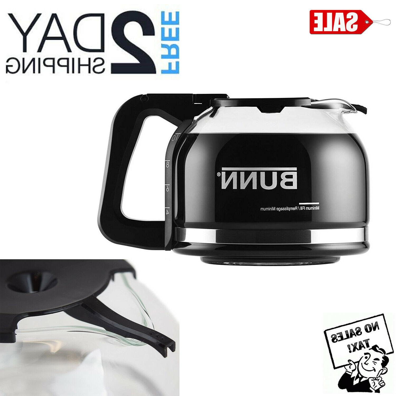 replacement carafe for bunn coffee maker decanter