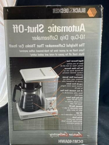 Vintage Coffeematic Coffee Maker DCM140AWH