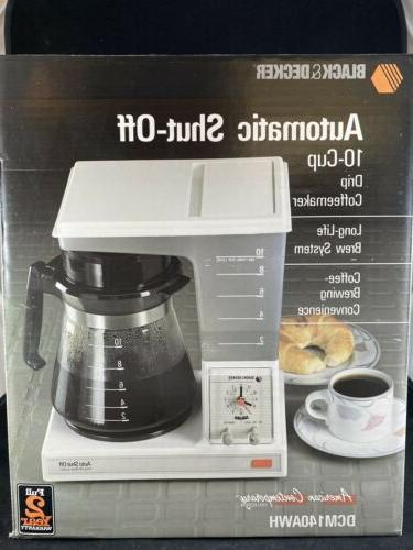 vintage black and decker coffeematic 10 cup
